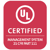 UL Certified supplement manufacturer